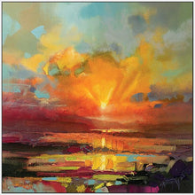 45140_FW1 - titled 'Optimism Sunrise Study' by artist Scott Naismith - Wall Art Print on Textured Fine Art Canvas or Paper - Digital Giclee reproduction of art painting. Red Sky Art is India's Online Art Gallery for Home Decor - 55_WDC98173