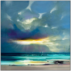 45142_FW1 - titled 'West Coast Blues II' by artist Scott Naismith - Wall Art Print on Textured Fine Art Canvas or Paper - Digital Giclee reproduction of art painting. Red Sky Art is India's Online Art Gallery for Home Decor - 55_WDC98211