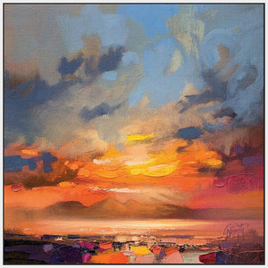 45145_FW1 - titled 'Rum Light Study' by artist Scott Naismith - Wall Art Print on Textured Fine Art Canvas or Paper - Digital Giclee reproduction of art painting. Red Sky Art is India's Online Art Gallery for Home Decor - 55_WDC98214