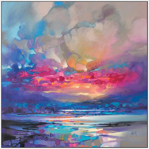 45171_FW1 - titled 'Quantum Skye' by artist Scott Naismith - Wall Art Print on Textured Fine Art Canvas or Paper - Digital Giclee reproduction of art painting. Red Sky Art is India's Online Art Gallery for Home Decor - 55_WDC98333