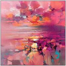 45182_FW1 - titled 'Coral' by artist Scott Naismith - Wall Art Print on Textured Fine Art Canvas or Paper - Digital Giclee reproduction of art painting. Red Sky Art is India's Online Art Gallery for Home Decor - 55_WDC98357