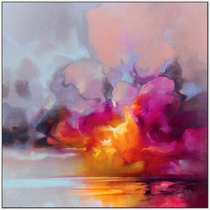 45184_FW1 - titled 'Cumulus Cluster' by artist Scott Naismith - Wall Art Print on Textured Fine Art Canvas or Paper - Digital Giclee reproduction of art painting. Red Sky Art is India's Online Art Gallery for Home Decor - 55_WDC98359