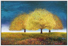 76018_FW1_- titled 'Dreaming Trio' by artist  Melissa Graves-Brown - Wall Art Print on Textured Fine Art Canvas or Paper - Digital Giclee reproduction of art painting. Red Sky Art is India's Online Art Gallery for Home Decor - 761_TR17218