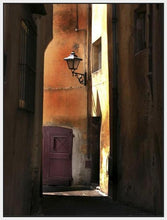 34761_FW1_- titled 'Siena Alley II' by artist Jim Chamberlain - Wall Art Print on Textured Fine Art Canvas or Paper - Digital Giclee reproduction of art painting. Red Sky Art is India's Online Art Gallery for Home Decor - 761_TR8930