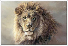 60101_FW1_- titled 'His Majesty' by artist Kalon Baughan - Wall Art Print on Textured Fine Art Canvas or Paper - Digital Giclee reproduction of art painting. Red Sky Art is India's Online Art Gallery for Home Decor - B2055