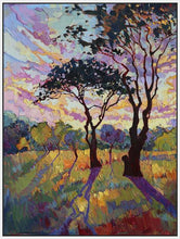 60120_FW2_- titled 'California Sky (bottom left)' by artist Erin Hanson - Wall Art Print on Textured Fine Art Canvas or Paper - Digital Giclee reproduction of art painting. Red Sky Art is India's Online Art Gallery for Home Decor - H2819