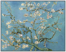 60241_FW2_- titled 'Almond Blossom, 1890' by artist Vincent van Gogh - Wall Art Print on Textured Fine Art Canvas or Paper - Digital Giclee reproduction of art painting. Red Sky Art is India's Online Art Gallery for Home Decor - V401