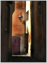 34761_FW3_- titled 'Siena Alley II' by artist Jim Chamberlain - Wall Art Print on Textured Fine Art Canvas or Paper - Digital Giclee reproduction of art painting. Red Sky Art is India's Online Art Gallery for Home Decor - 761_TR8930
