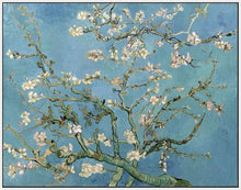60241_FW3_- titled 'Almond Blossom, 1890' by artist Vincent van Gogh - Wall Art Print on Textured Fine Art Canvas or Paper - Digital Giclee reproduction of art painting. Red Sky Art is India's Online Art Gallery for Home Decor - V401