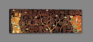29286_GS1_- titled 'Tree Of Life Dark' by artist Gustav Klimt - Wall Art Print on Textured Fine Art Canvas or Paper - Digital Giclee reproduction of art painting. Red Sky Art is India's Online Art Gallery for Home Decor - 43_1750-0143