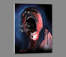 35842_GS1_ - titled 'Pink Floyd The Wall (Screamer)' by artist Gerald Scarfe - Wall Art Print on Textured Fine Art Canvas or Paper - Digital Giclee reproduction of art painting. Red Sky Art is India's Online Art Gallery for Home Decor - 55_WDC100203