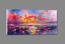45109_GS1_ - titled 'Skye Equinox' by artist Scott Naismith - Wall Art Print on Textured Fine Art Canvas or Paper - Digital Giclee reproduction of art painting. Red Sky Art is India's Online Art Gallery for Home Decor - 55_WDC93332