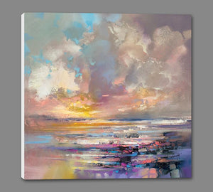 45157_GS1_ - titled 'Radiant Energy' by artist Scott Naismith - Wall Art Print on Textured Fine Art Canvas or Paper - Digital Giclee reproduction of art painting. Red Sky Art is India's Online Art Gallery for Home Decor - 55_WDC98243