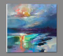 45167_GS1_ - titled 'Arran Shore' by artist Scott Naismith - Wall Art Print on Textured Fine Art Canvas or Paper - Digital Giclee reproduction of art painting. Red Sky Art is India's Online Art Gallery for Home Decor - 55_WDC98329