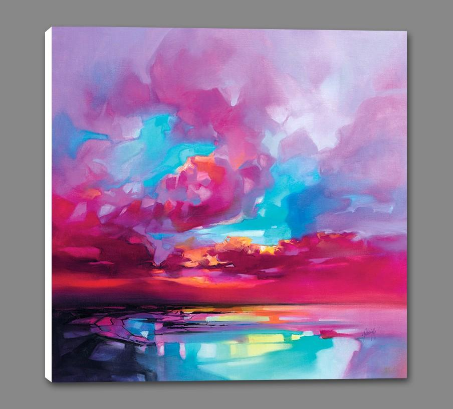 45191_GS1_ - titled 'Vortex' by artist Scott Naismith - Wall Art Print on Textured Fine Art Canvas or Paper - Digital Giclee reproduction of art painting. Red Sky Art is India's Online Art Gallery for Home Decor - 55_WDC98366