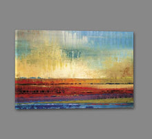 34602_GS1_- titled 'Horizons I' by artist Selina Rodriguez - Wall Art Print on Textured Fine Art Canvas or Paper - Digital Giclee reproduction of art painting. Red Sky Art is India's Online Art Gallery for Home Decor - 761_TR13564