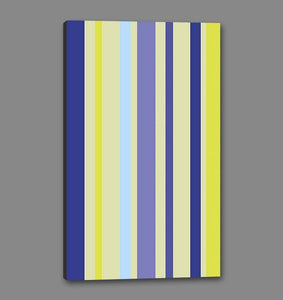 60209_GS1_- titled 'Violet Stripe' by artist Dan Bleier - Wall Art Print on Textured Fine Art Canvas or Paper - Digital Giclee reproduction of art painting. Red Sky Art is India's Online Art Gallery for Home Decor - B1801