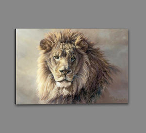 60101_GS1_- titled 'His Majesty' by artist Kalon Baughan - Wall Art Print on Textured Fine Art Canvas or Paper - Digital Giclee reproduction of art painting. Red Sky Art is India's Online Art Gallery for Home Decor - B2055