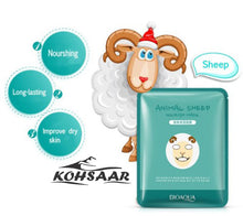 BIOAQUA Cute Animal Face Masks Skin Care Facial Mask Moisturizing, , kohsaar,-kohsaar