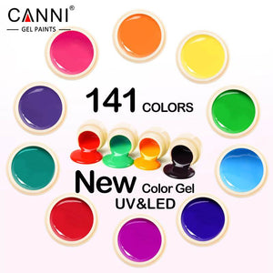 CANNI Nail Art Design Manicure141 Color UV LED Soak Off, , kohsaar,-kohsaar