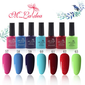 M.Ladea 8.3ML 140 colors Nail GEL Polish UV Led Long Lasting, , kohsaar,-kohsaar