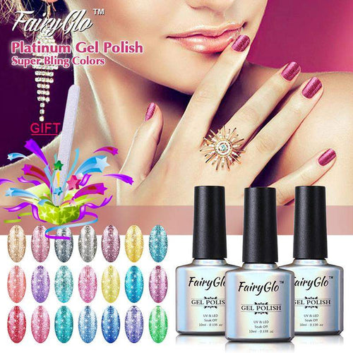 FairyGlo 10ml Neon Color Gel Nail Polish  Semi Permanent Gel polish Kit, , kohsaar,-kohsaar