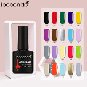 New Ibcccndc UV LED Soak-off Gel Nail Art Semi Permanent Gel, , kohsaar,-kohsaar