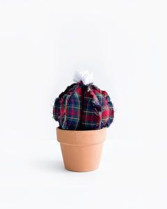 Medium Barrel Cactus - Flannel (Sample)