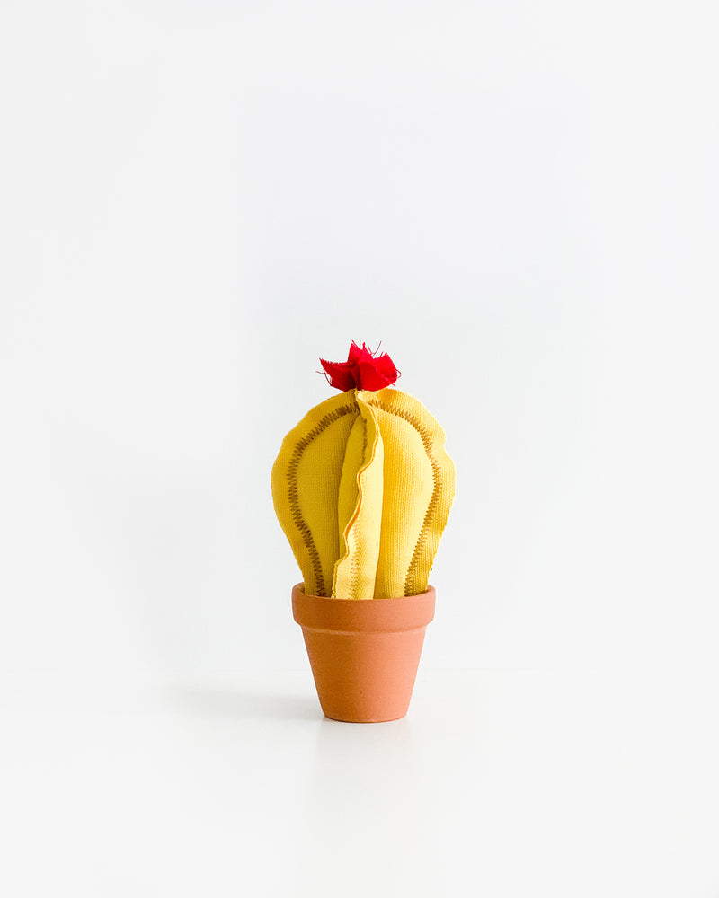 Mini Column Cactus - Banana Yellow