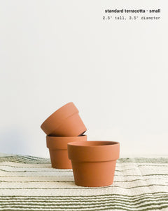 "3.5"" Small Terracotta Pot"