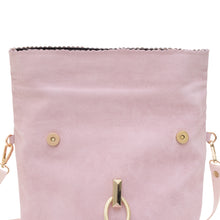 THE CLICLUNCHBAG, DUSTY PINK