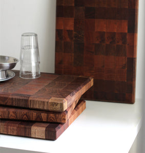 end grain butcher block