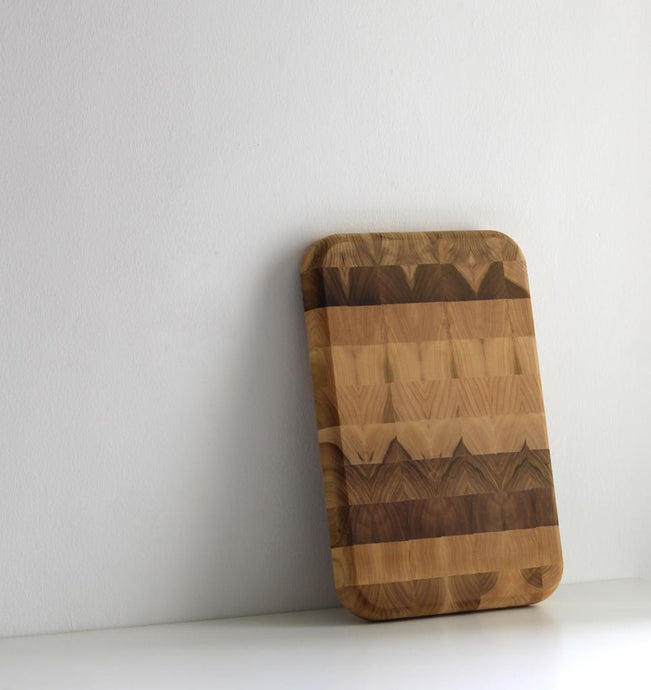 The Wild Jungle Collection - End Grain Cutting Board
