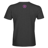 Athletic Shirts - Charcoal w/ Pink
