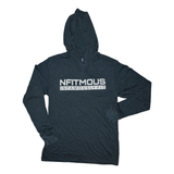 Nfitmous (INFAMOUSLY FIT) Lightweight Hoody - Indigo w/ White