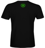 Athletic Shirts - Black w/ Neon Green