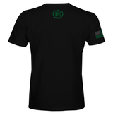 Athletic Shirts - Black w/ OD Green