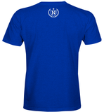 Athletic Shirts - Royal Blue w/ White