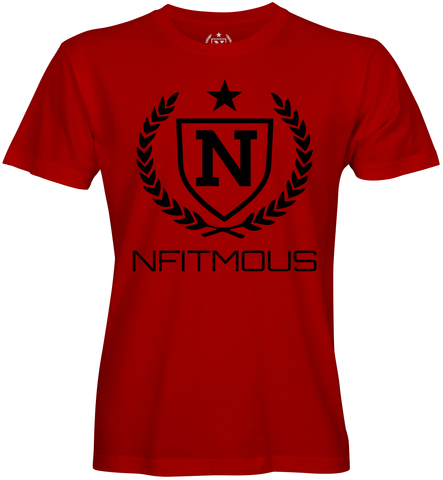Performance Shirts - Red w/ Black