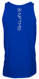 Men's Classic Tank Tops - Royal w/ White