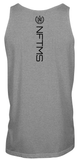 Men's Classic Tank Tops - Heather Gray w/ Black