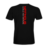 Nfitmous MMA Shirt - Black w/ Red