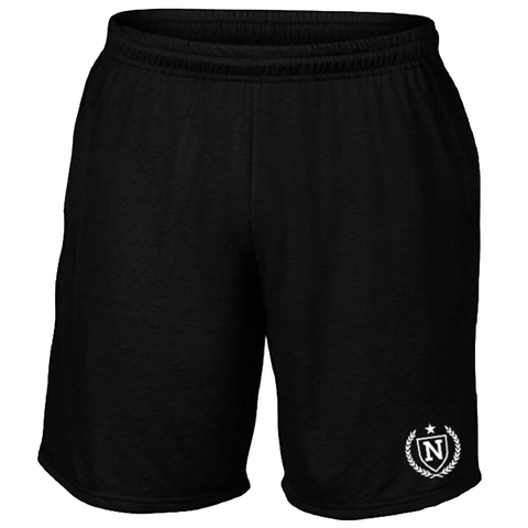 Performance Shorts - Black w/ Logo