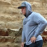 Team Nfitmous Lightweight Hoody - Gray w/ Black