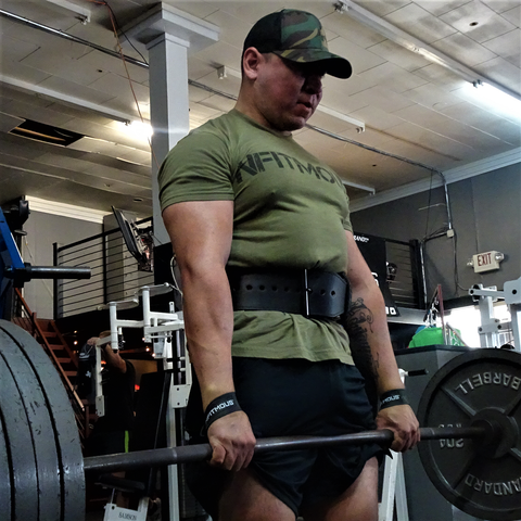 Athletic Shirts - Military Green w/ Black 2.0