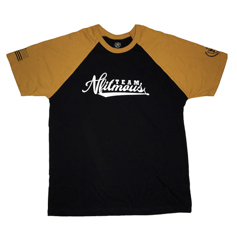 Team Nfitmous Shirt - Black w/ Gold (Print On Demand)