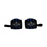Athlete Wrist Wraps - Black w/ Blue