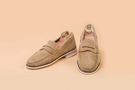 Cappuccino Suede Moccasin