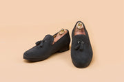 Shark Suede Tassel Loafer