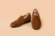 Cognac Suede Loafer